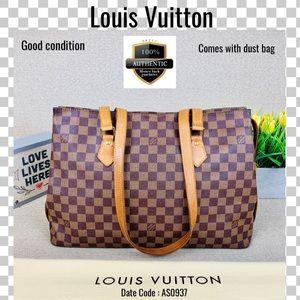 Louis Vuitton tote bag damier colombine shoulder